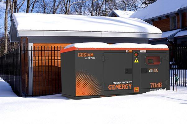 Generador Diesel GDS Escena