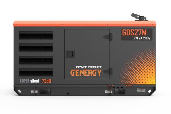 Soundproof Diesel Generator GDS27M