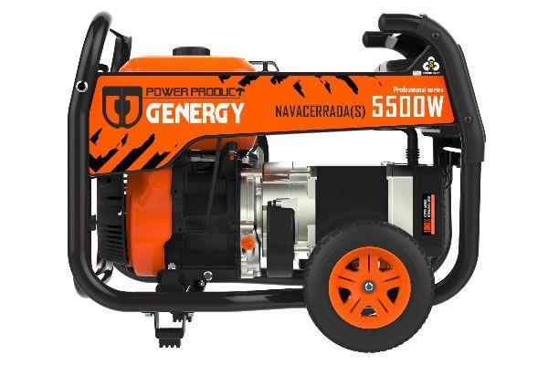Navacerrada-S 5500W Professional Electric Generator
