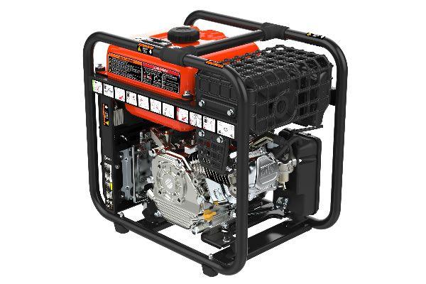 Rodas 3800W Open Inverter Generator