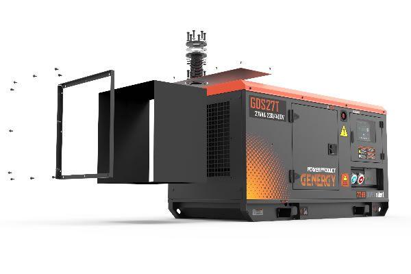 Room Kit Silent Diesel Generator