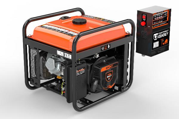 Creta-ATS 7500W Electric Generator