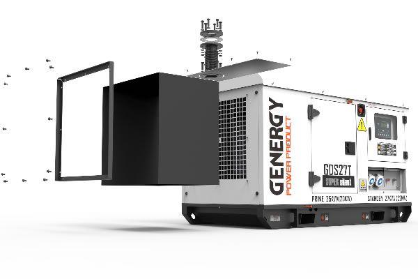 Kit de Salle pour Groupe Électrogène Silencieux