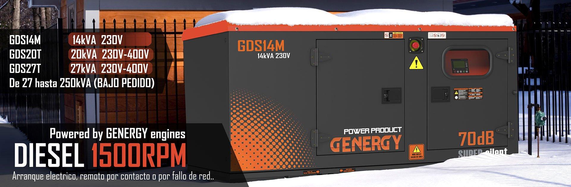 generador Diesel Genergy