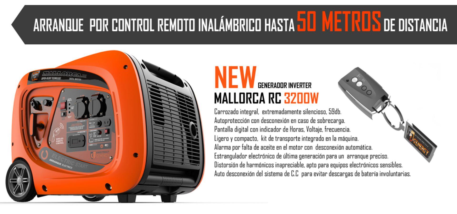 Generador Electrico Inverter Mallorca