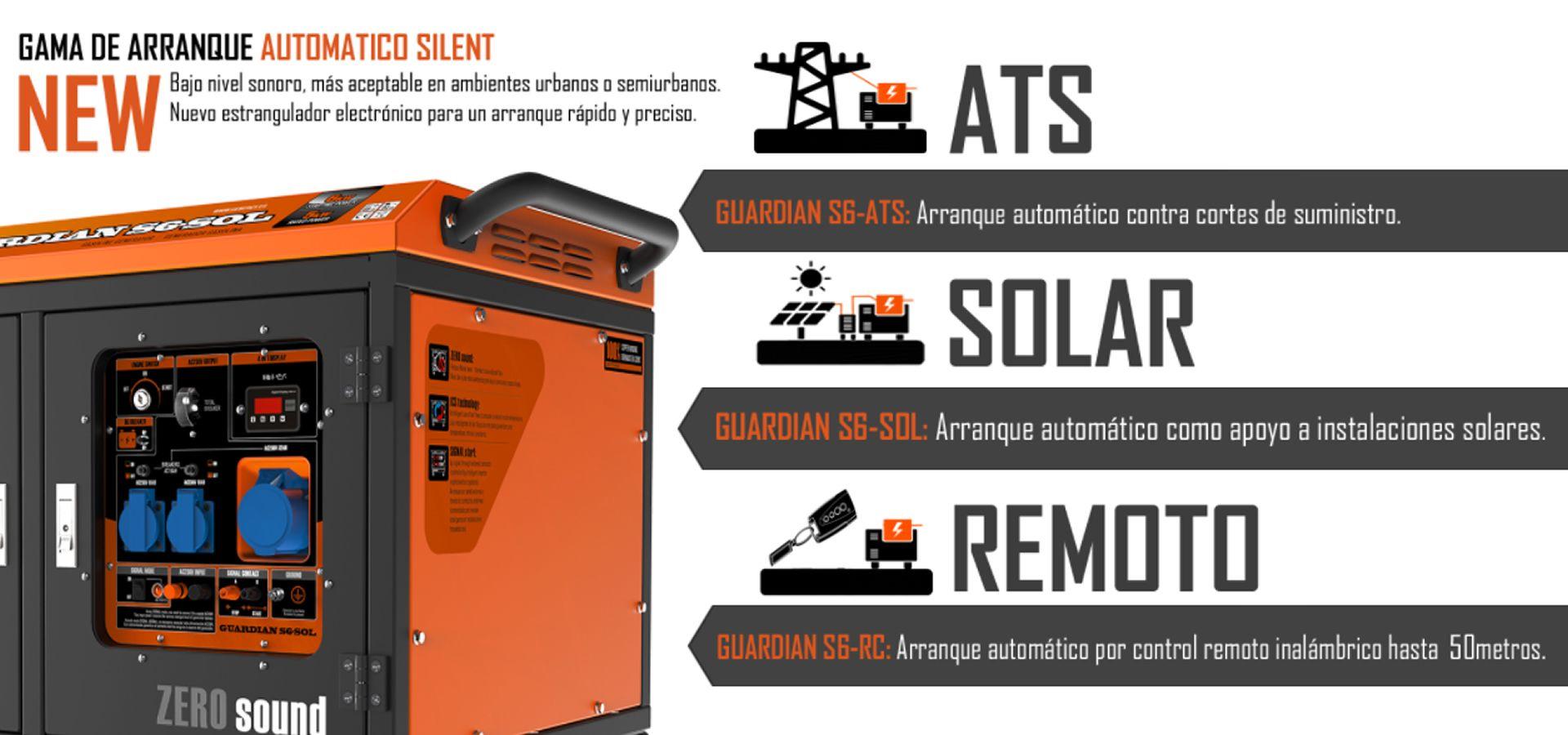 Generador Electrico Arranque Automatico por Control Remoto Genergy