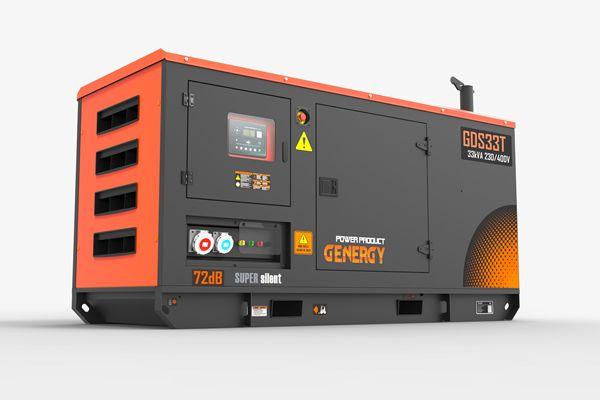 GDS33T Generador Diesel