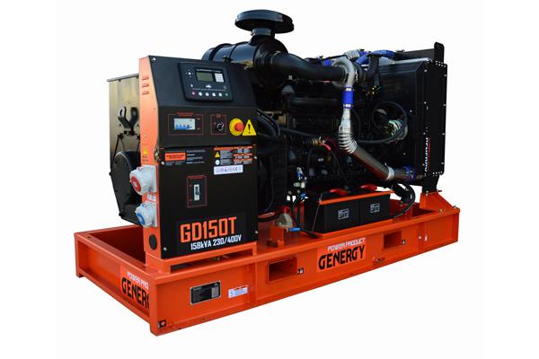 Generador diesel abierto GD150T