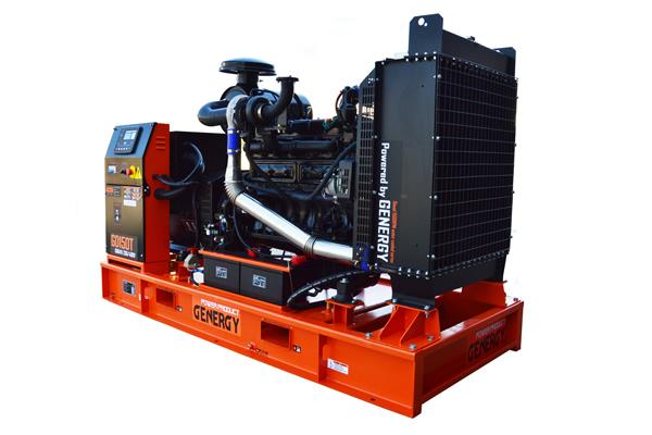 Generador diesel abierto GD150T 2