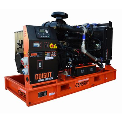 GD150T Open Diesel Generator