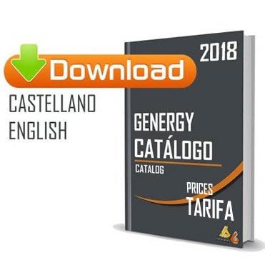 Catalogo de generadores y precios Genergy