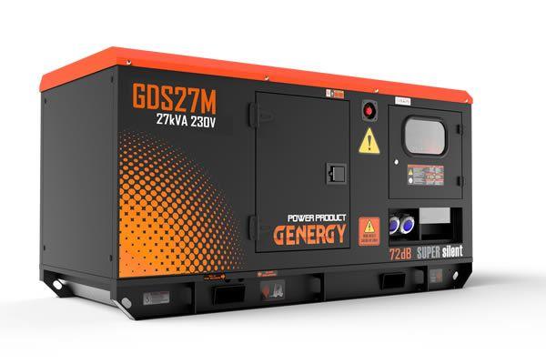 Grupo Electrogeno Diesel GDS27M