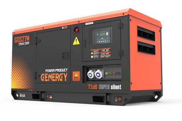 Grupo Electrogeno Diesel GDS27M Silencioso