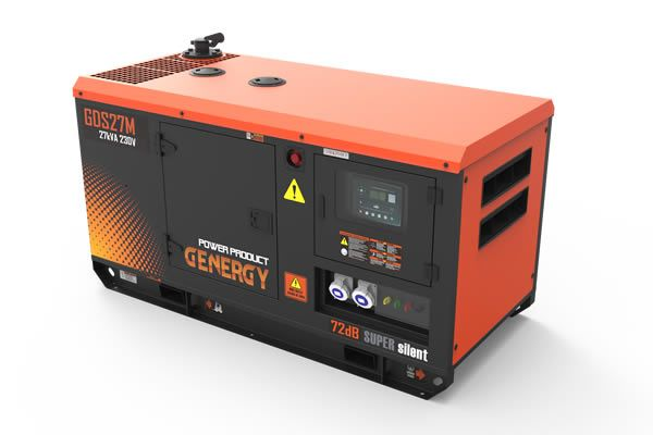 Grupo Electrogeno Diesel GDS27M Insonorizado