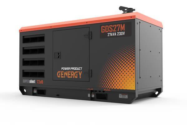 Generador Diesel GDS27M Silencioso