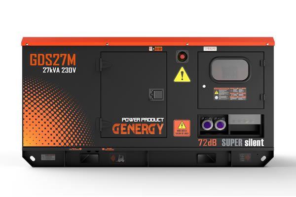 Generador Diesel GDS27M Insonorizado