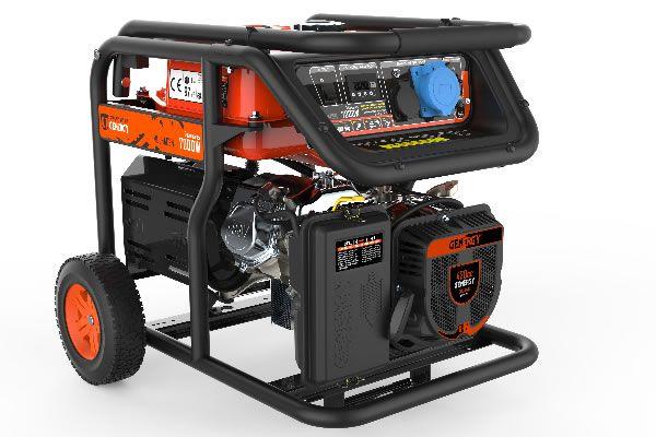 Generador de corriente Mulhacén 7000W