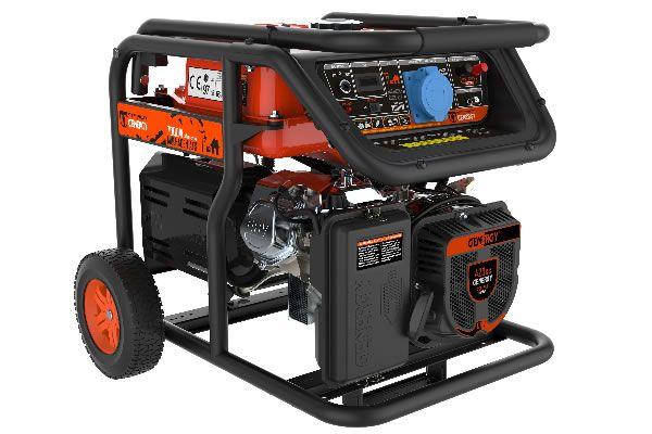 Generador de corriente Mulhacén ATS 7000W