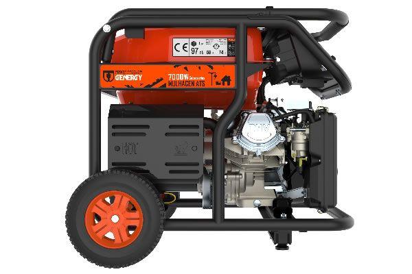 Generador eléctrico Mulhacén ATS 7000W