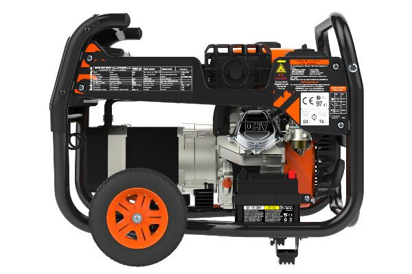 Generadores eléctricos Astún 7000W V2