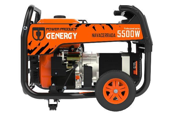 Generador gasolina Navacerrada 5500W V2