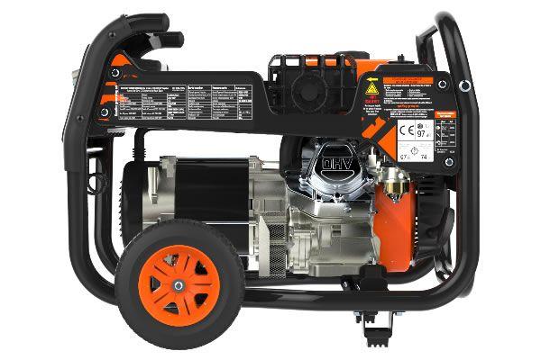 Generador portátil trifásico Candanchu-S 7000W