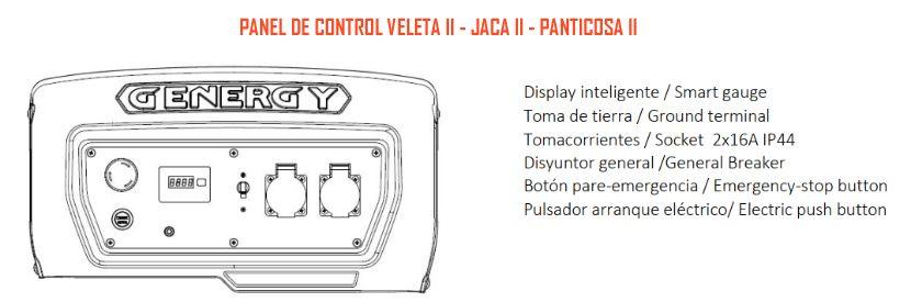 Panel control Veleta Jaca Panticosa