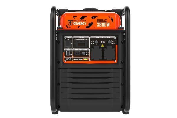 Generador Inverter Gasolina Rodas 3800W