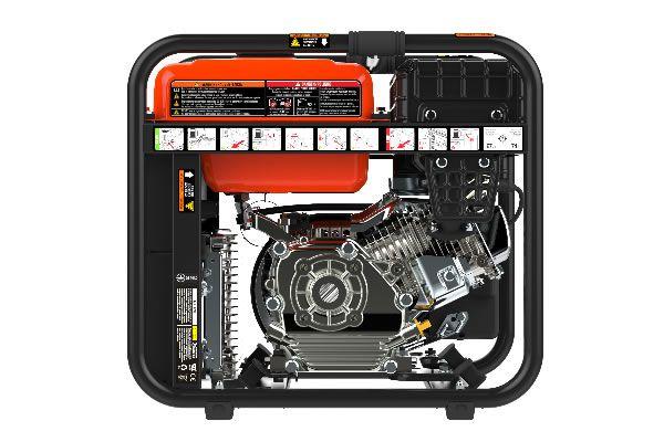 Generador Eléctrico Genergy Rodas 3800W