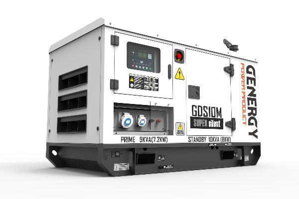 Grupo Electrógeno Diésel GDS10M 10KVA 8KW