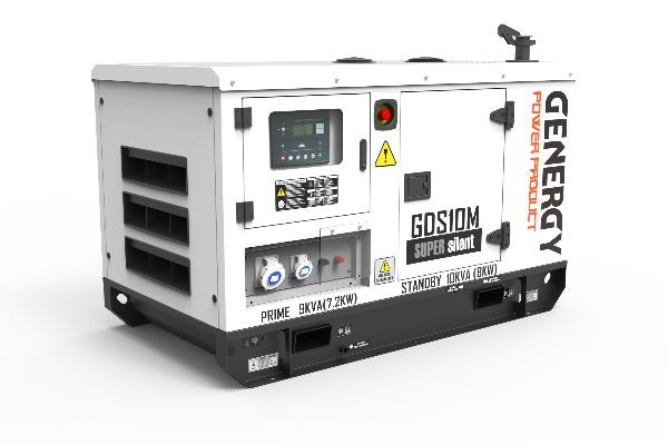Grupo Electrógeno Insonorizado GDS10M 10KVA 8KW