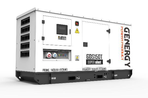 Grupo Electrógeno Diésel GDS150T 158KVA 123KW