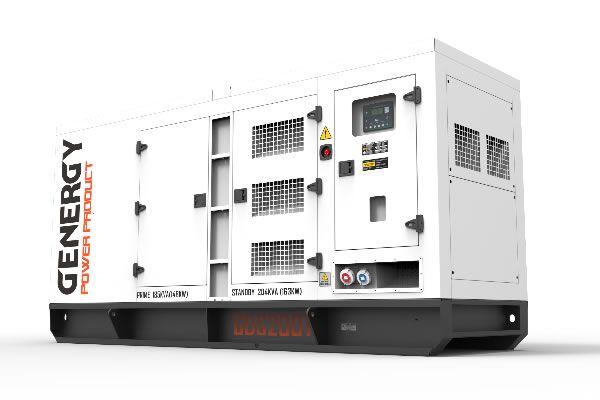 Grupo Electrógeno Diésel GDS200T 204KVA 163KW