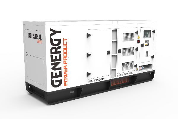 Grupo Electrógeno Insonorizado GDS200T 204KVA 163KW