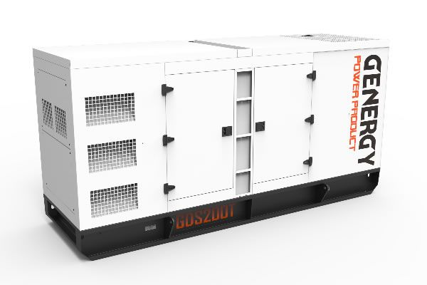 Generador Diélsel Insonorizado GDS200T 204KVA 163KW