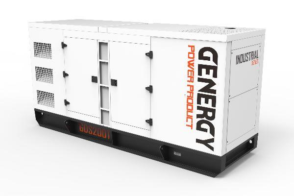 Generador Diélsel GDS200T 204KVA 163KW