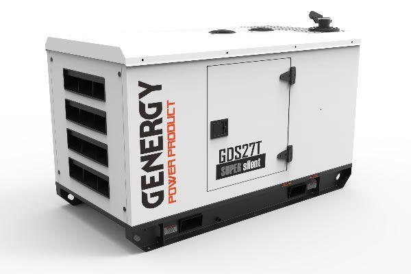 Generador Diésel Insonorizado GDS27T 27KVA 22KW