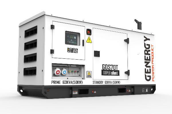 Grupo Electrógeno Diésel GDS70T 69KVA 55KW