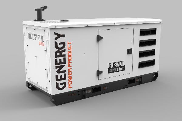 Generador Diésel Silencioso GDS70T 69KVA 55KW