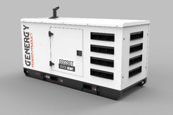 Grupo Electrógeno Silencioso GDS90T 94KVA 75KW