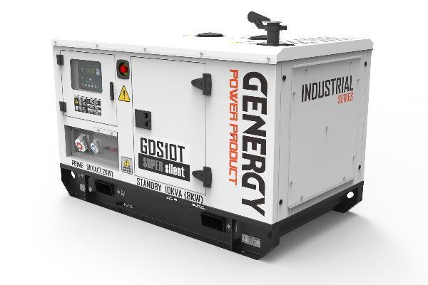 Generador Trifásico Diésel GDS10T