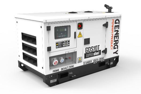 Generador Silencioso Diésel GDS10T