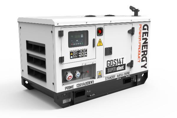Generador Silencioso Diésel GDS14T