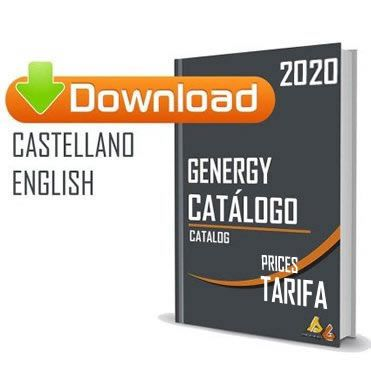 Catalogo generadores 2020