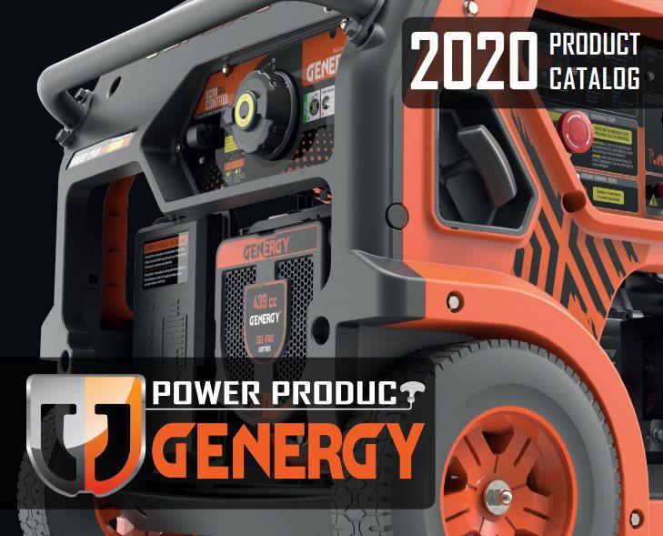 Catálogo Generadores Genergy 2020