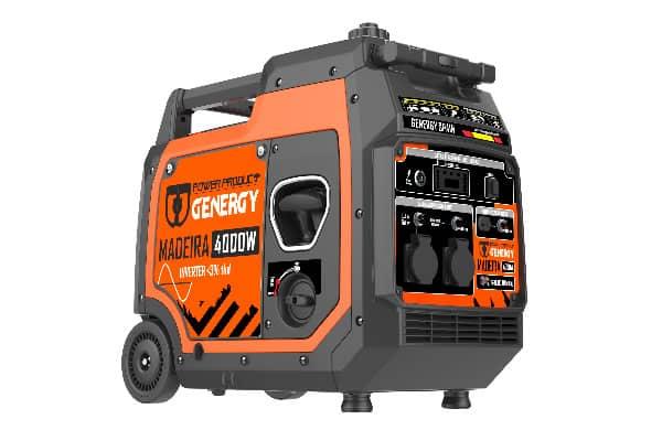Generador Silencioso Inverter Madeira 4000W