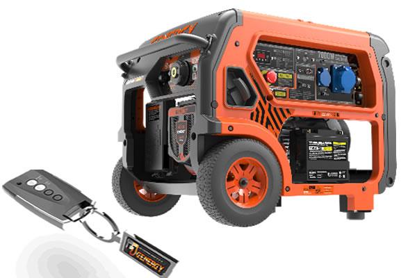 Generador Control Remoto Baqueira RC 7000W
