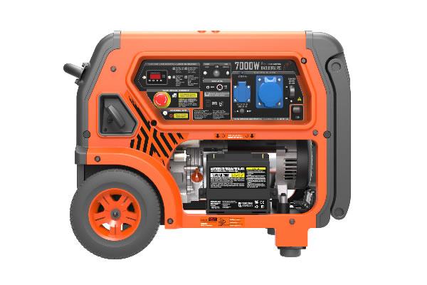 Generador de Corriente Control Remoto Baqueira RC 7000W