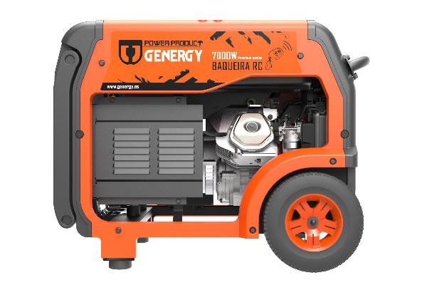 Generador Mando a Distancia Baqueira RC 7000W