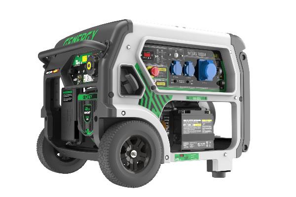 Generador Gas Natura 7000W Premium